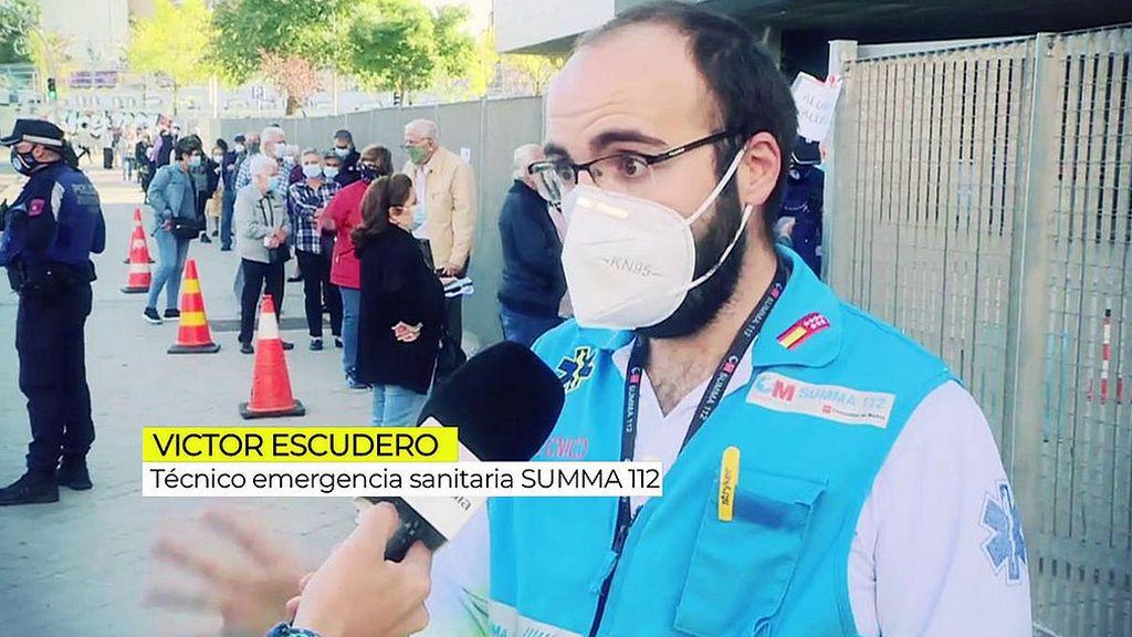 Fracaso de afluencia de los test de antígenos en Madrid
