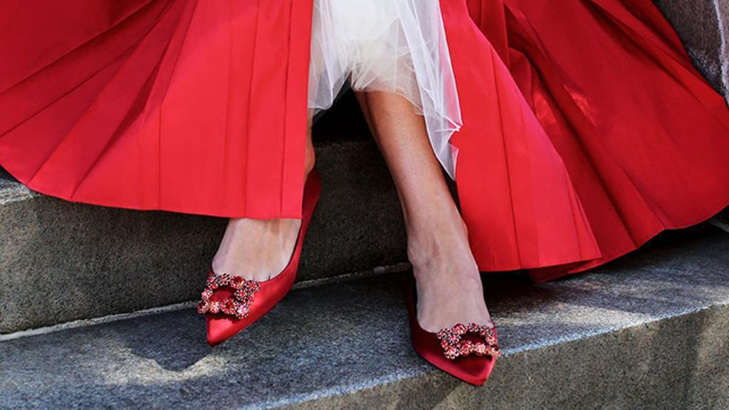 Invitada sin tacones: bailarinas y zapatos planos para ir a una boda