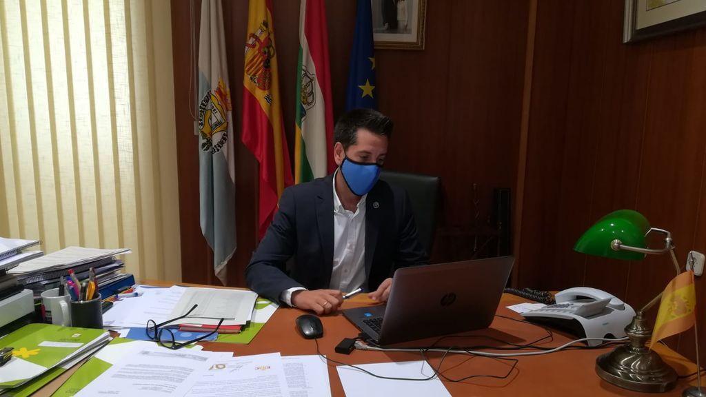 Javier García, alcalde Arnedo.