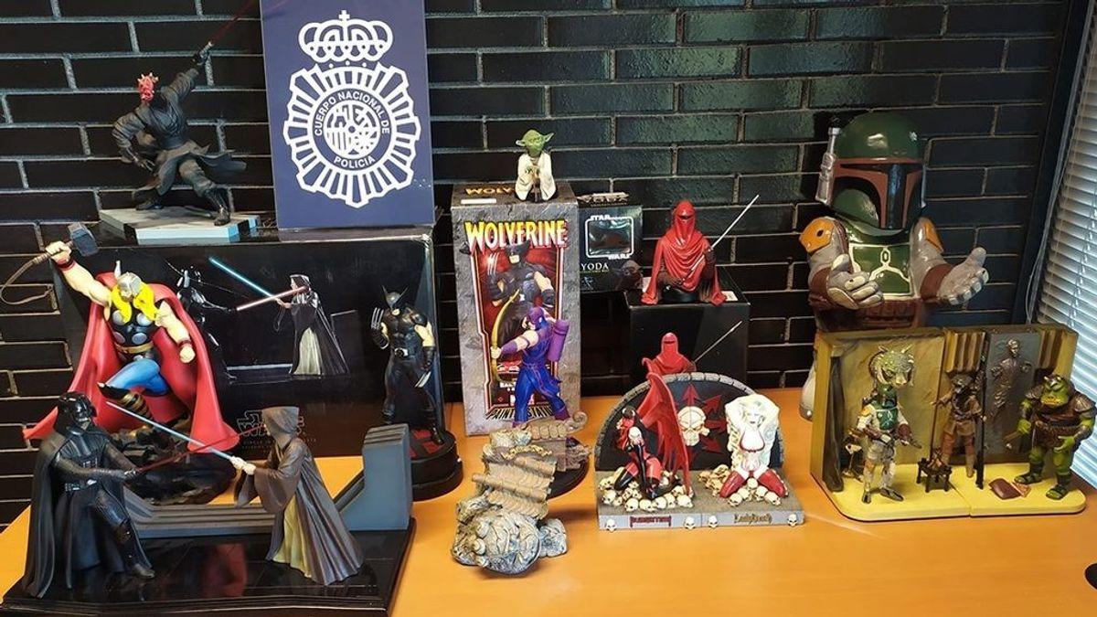 Dos detenidos por robar material de coleccionista de cómics y cine valorado en 600.000 euros en Madrid