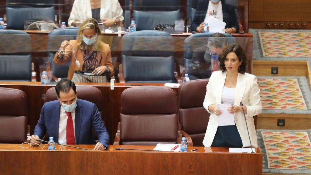 Ayuso  acata la orden de confinar a 4,5 millones de madrileños y lleva su pulso con Sánchez a la Audiencia Nacional