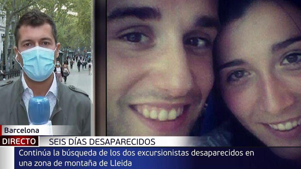 Sin rastro de la pareja de excursionistas desaparecida en Lleida desde el pasado día 25: la búsqueda continúa