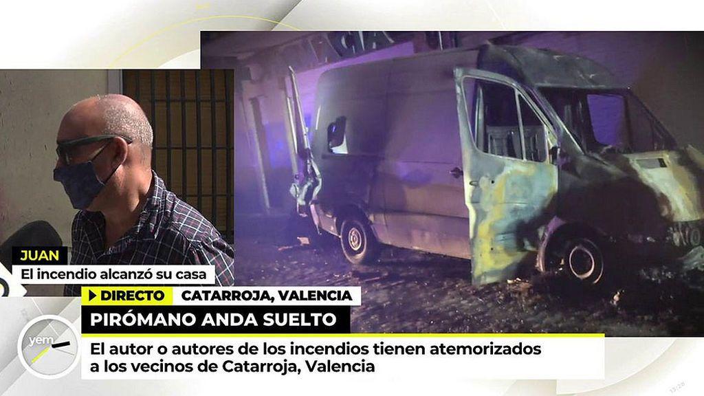 Un vecino de Catarroja en el punto de mira de las fuerzas de seguridad como responsable de los incendios