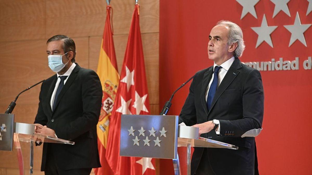 Madrid defiende el éxito de sus medidas y cree que las de Sanidad, que entran en vigor a las 22 horas, son nulas, ineficaces y provocarán caos