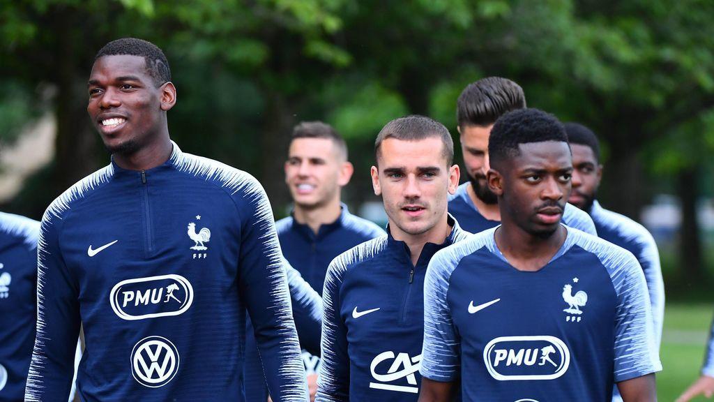 """La curiosa llamada de Paul Pogba a Dembelé para convencerlo de fichar por el Manchester United: """"Aquí estarás mejor"""""""