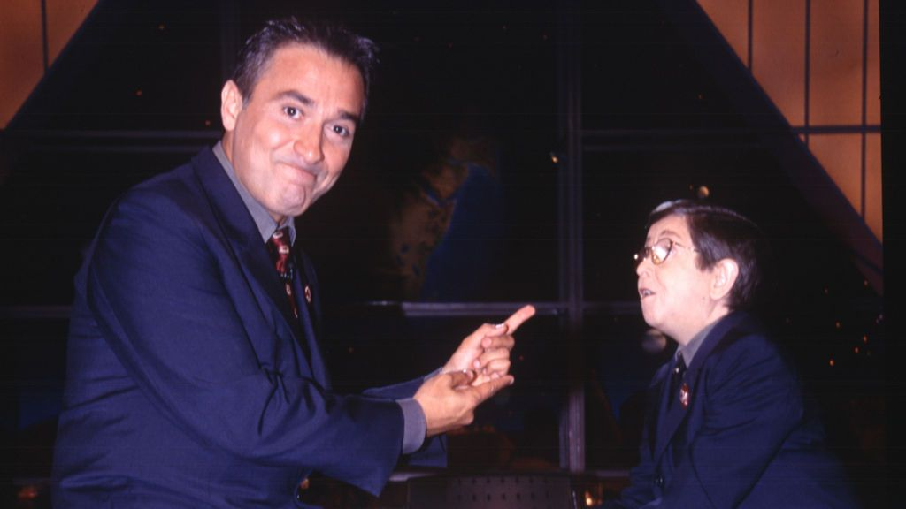 Con el señor Galindo, en 'Crónicas marcianas'