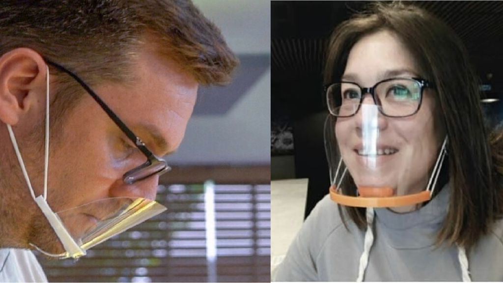 Las máscaras de barbilla contra el coronavirus se ponen de moda: por qué no debes usarlas