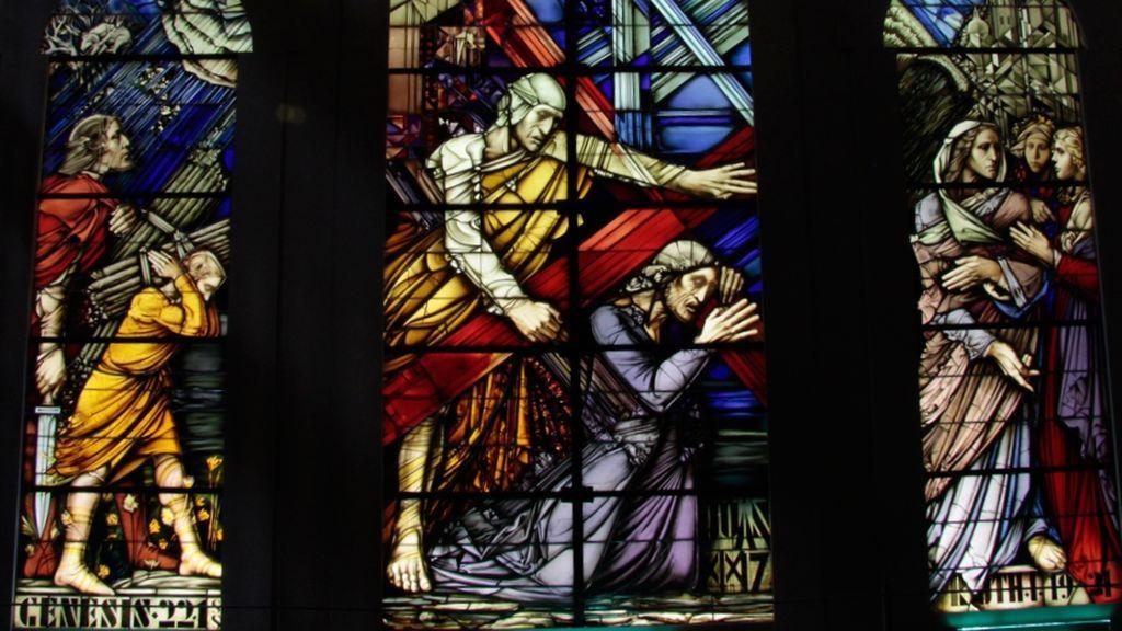 Vidriera Catedral de Segovia