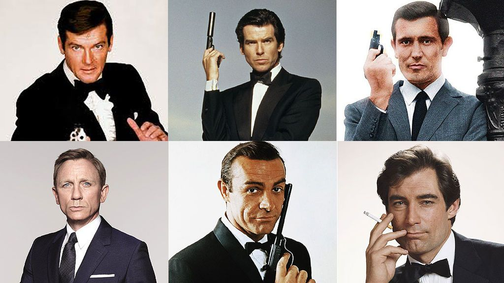 ¿Quién es tu James Bond favorito?