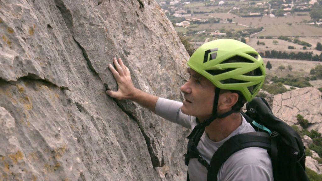 """Fernando Simón, en apuros en su escalada junto a los hermanos Pou: """"Tengo que salir de aquí"""""""