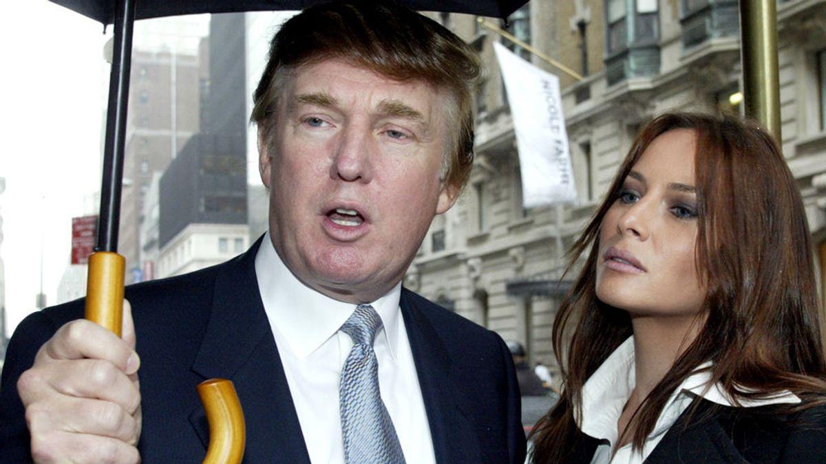 Trump y Melania, en 2003, cinco años después de conocerse