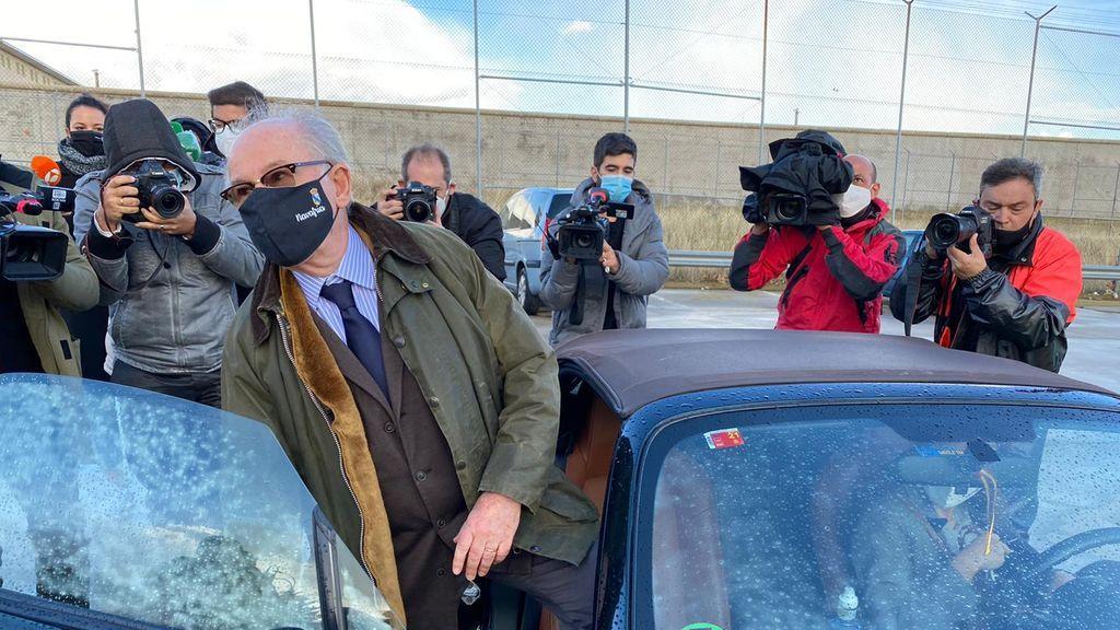Rodrigo Rato sale en tercer grado de la prisión de Soto del Real
