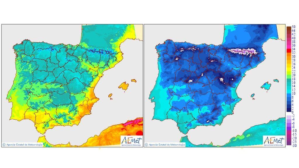 temperaturas vineres