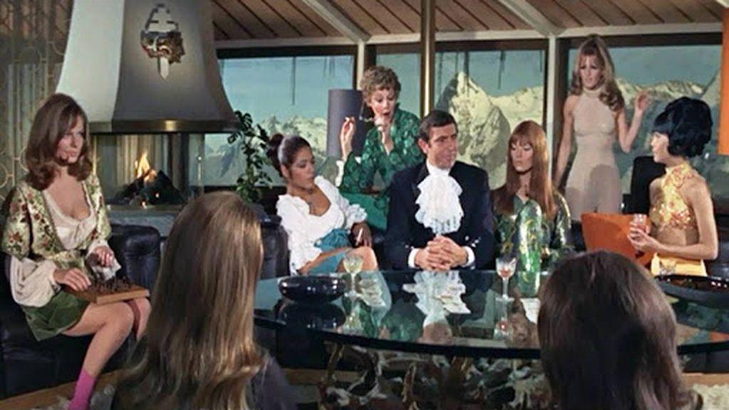 Escena de la película 007 Al servicio secreto de su Majestad