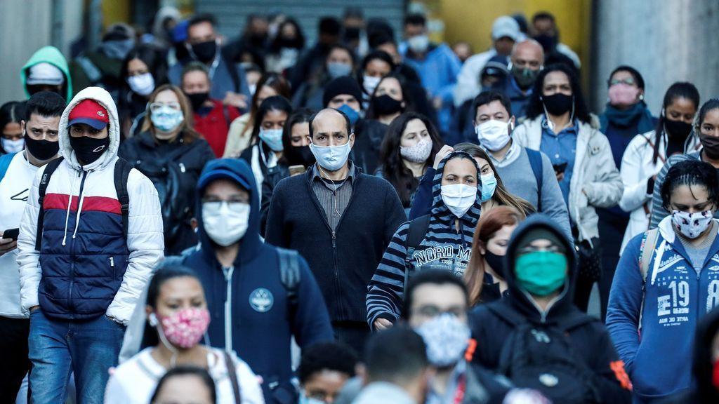 El estado brasileño de Sao Paulo supera la marca del millón de contagios