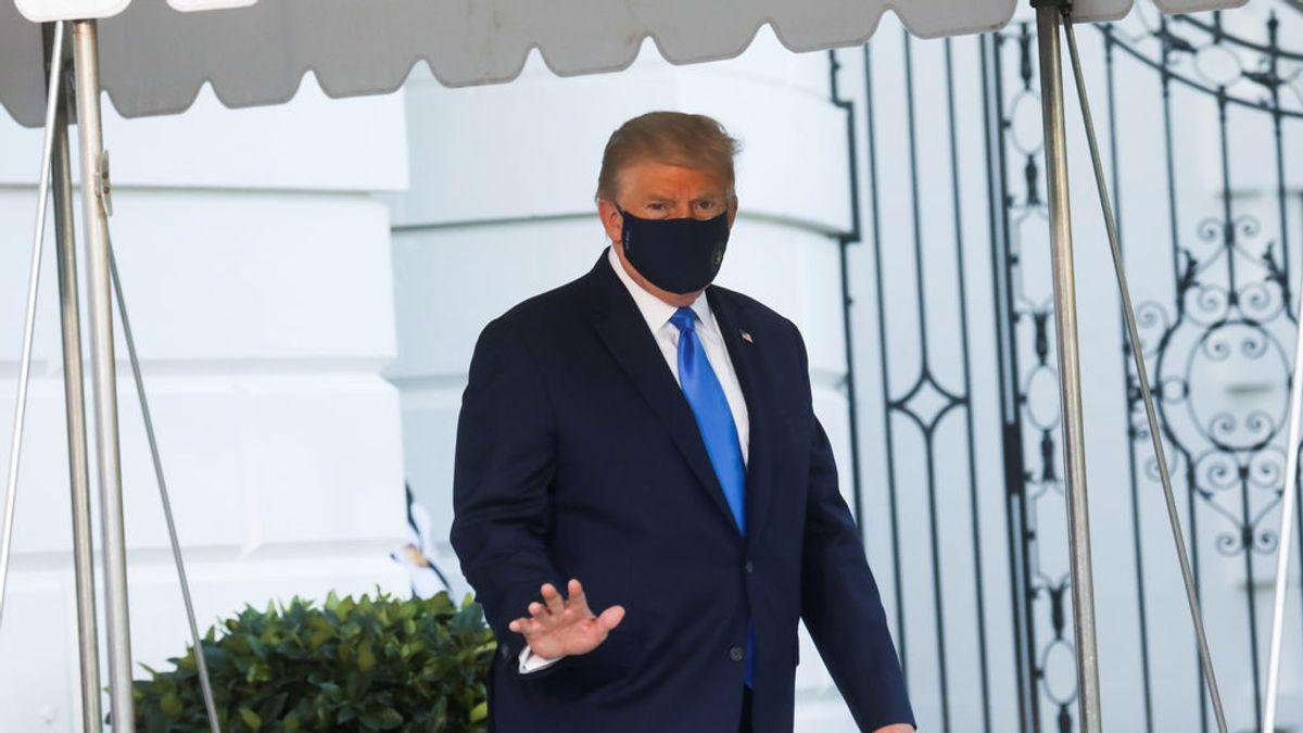 Trump no requiere oxígeno e inicia la terapia con remdesvir contra la covid19, según el parte médico
