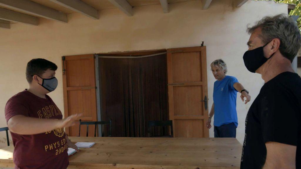 Fernando Simón visita a Miquel Montoro