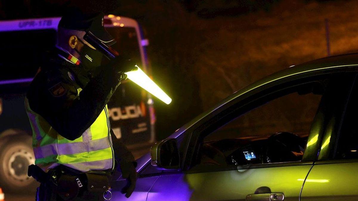 Cuatro detenidos y 200 sancionados en una fiesta en una chalet de Madrid