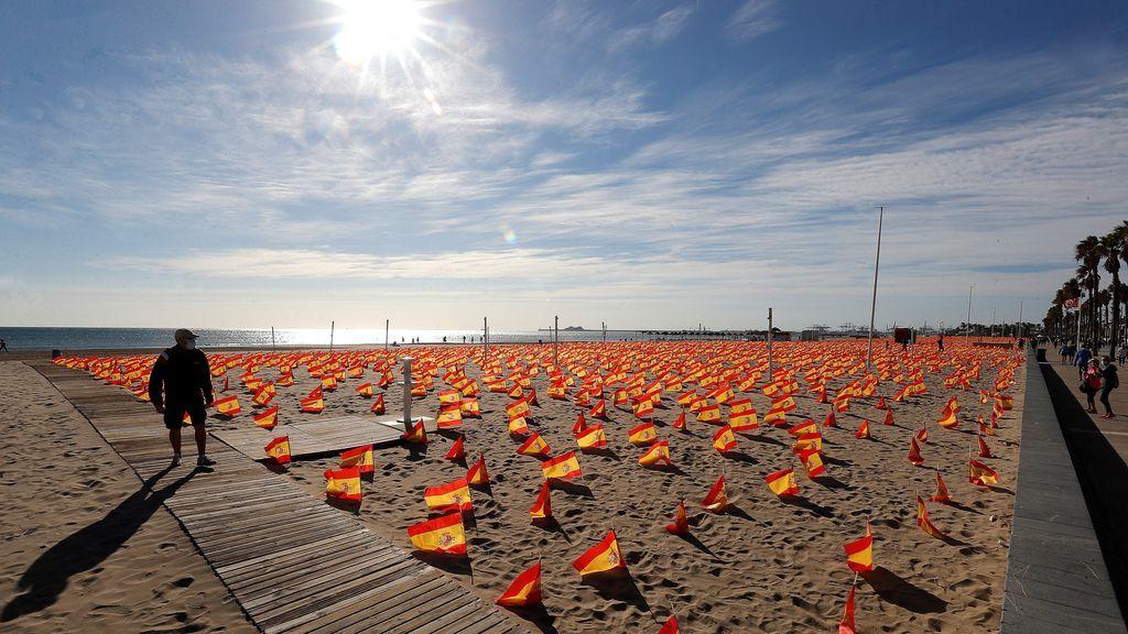 La playa de la Patacona de Alboraia