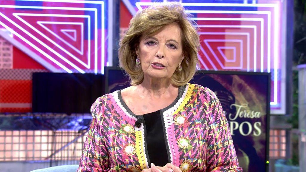 El momento de Mª Teresa Campos Sábado Deluxe 2020 Programa 603