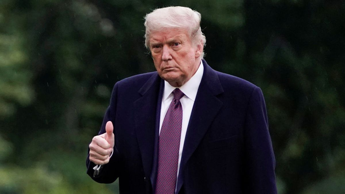Trump podría recibir el alta este mismo lunes tras su ingreso el viernes por coronavirus