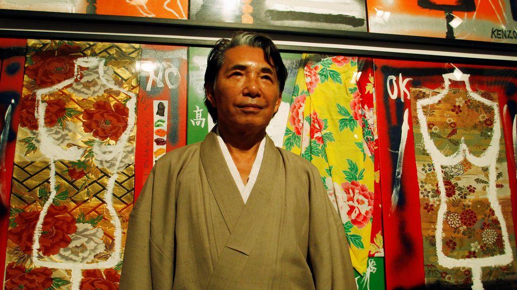 Muere por coronavirus el icónico diseñador japonés Kenzo Takada a sus 81 años