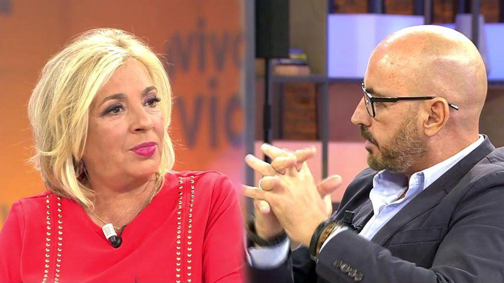 Diego enfada a Carmen