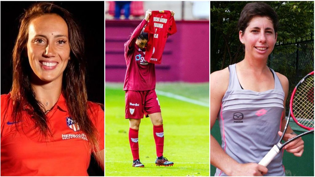 """El gran gesto de Olga García, jugadora del Logroño, con Virginia Torrecilla y Carla Suárez: """"Os lo prometí, mi primer gol para vosotras"""""""