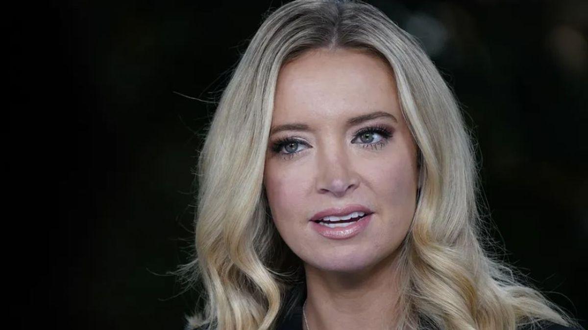 Kayleigh McEnany, la jefa de prensa de la Casa Blanca, da positivo sin síntomas