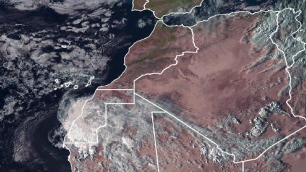 Una rara depresión tropical recorrerá 2.000 kilómetros hasta llegar a Canarias con lluvias intensas