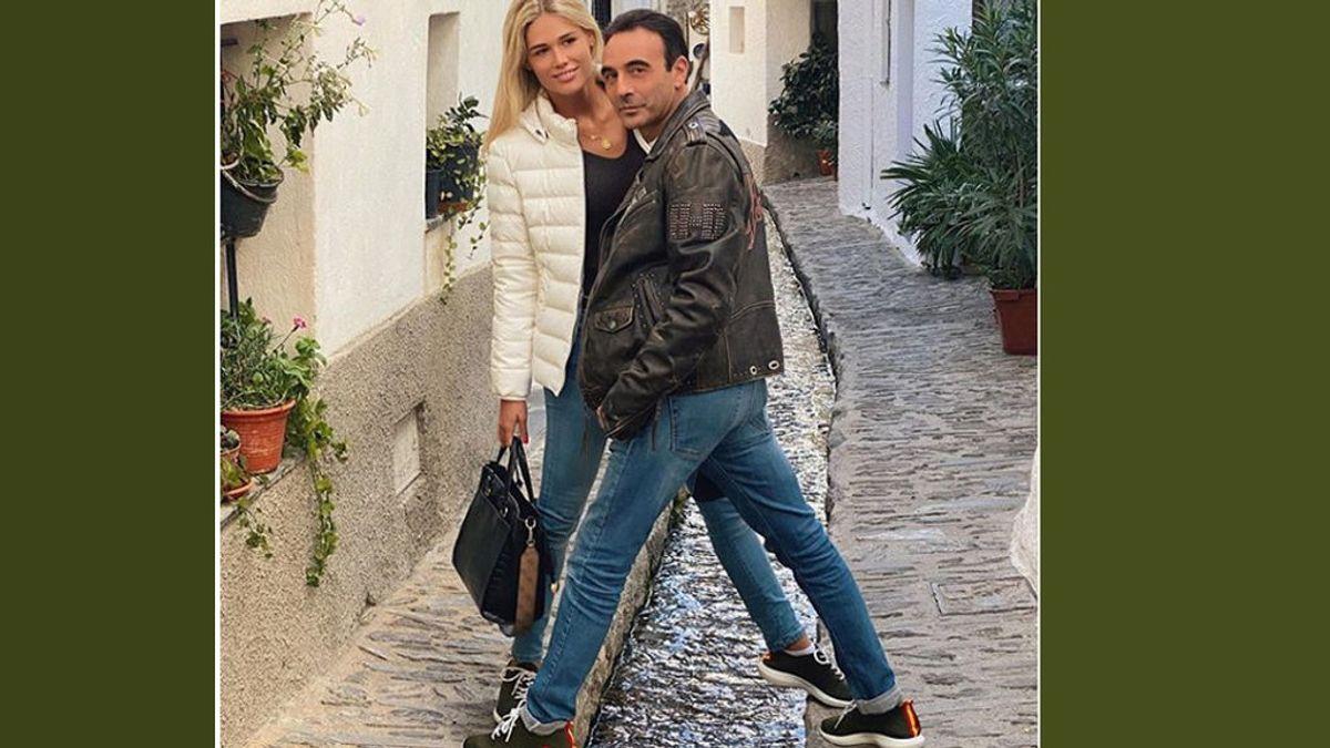 Ponce no frena y ya se mimetiza con su novia veintañera: chupa de cuero y zapatillas a juego