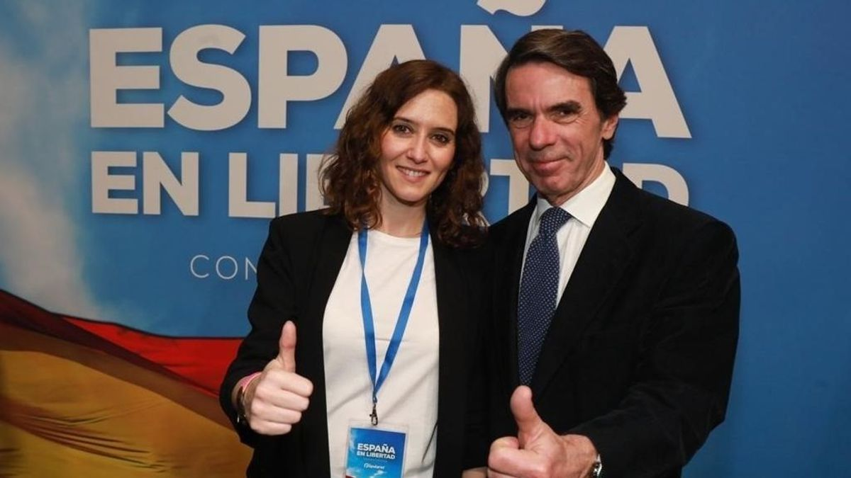 """Aznar avisa del error de mandar el mensaje de que Madrid es """"apestada"""""""