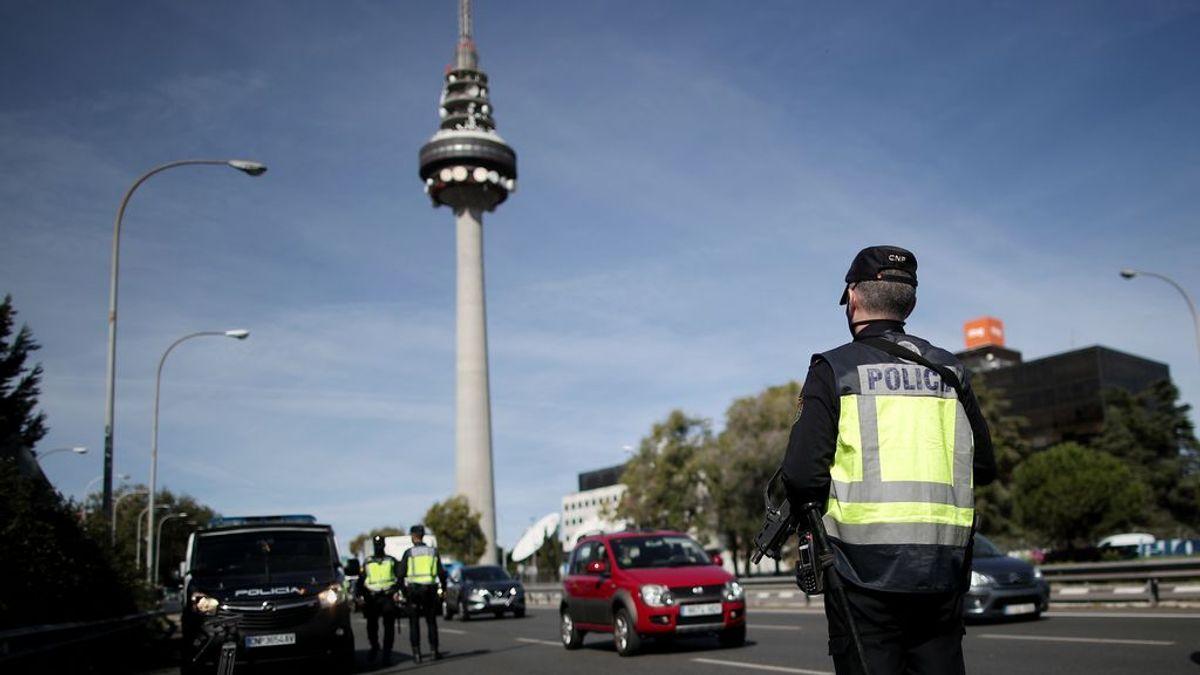 Menos coches y más usuarios de Metro en el Madrid confinado