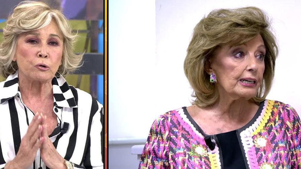 "Mila Ximénez se pone seria con Teresa Campos por sus palabras sobre Edmundo Arrocet: ""Aplaudes a un sinvergüenza"""