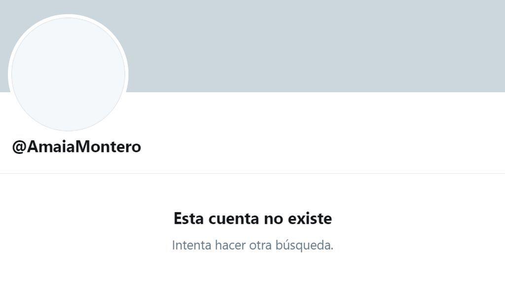 Amaia Montero cierra su perfil de Twitter