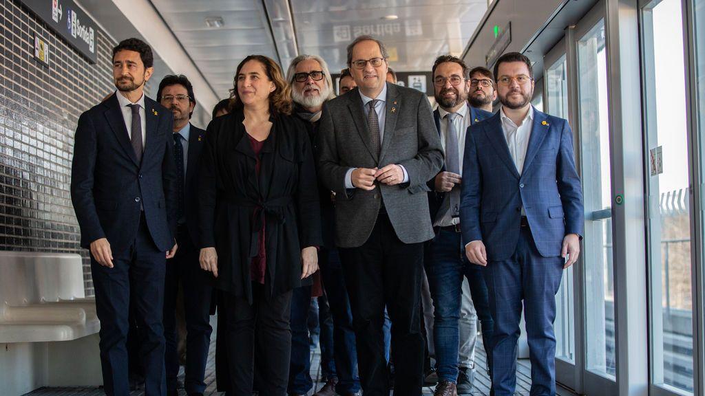 Aragonès y Colau plantarán al rey Felipe VI en su nueva visita a Barcelona
