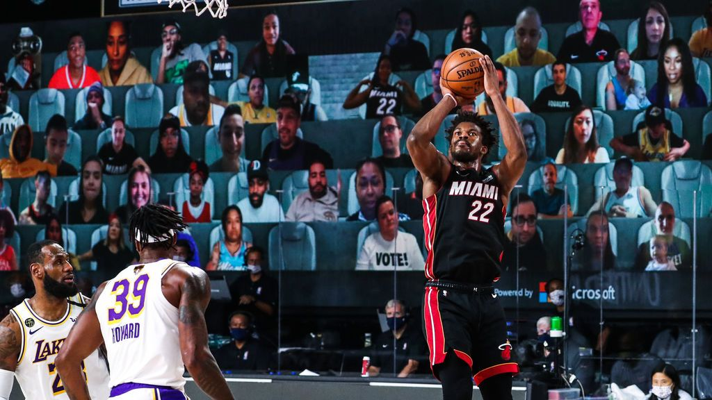 Miami se mantiene con vida en las finales tras ganar a los Lakers gracias a un sensacional Butler (115-104)