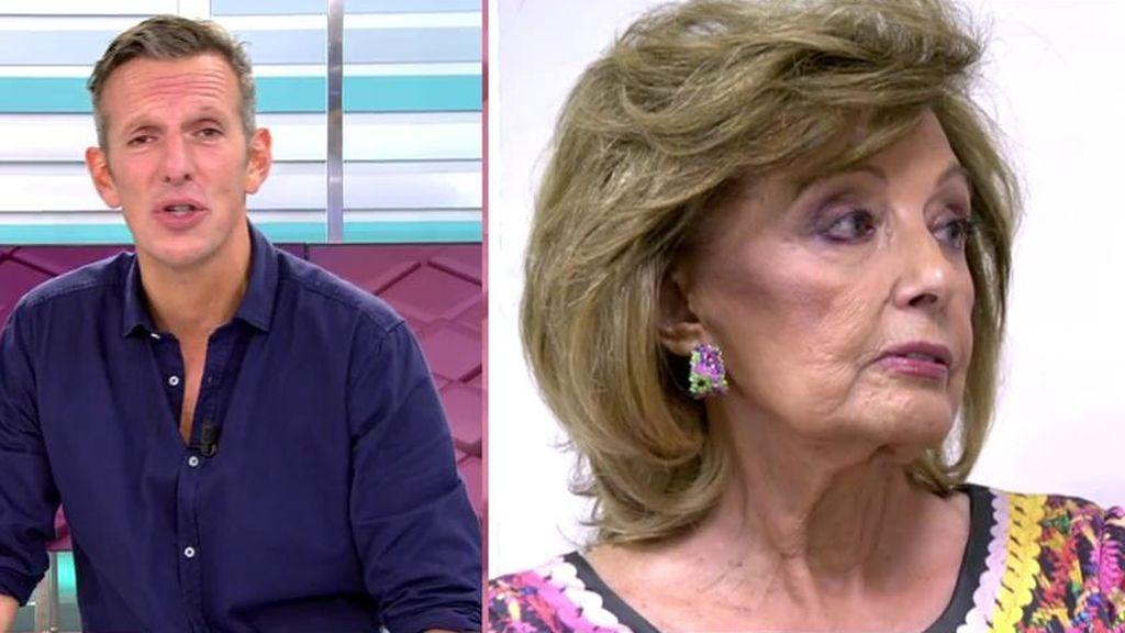 Joaquín Prat habla sobre Teresa Campos y Jorge Javier