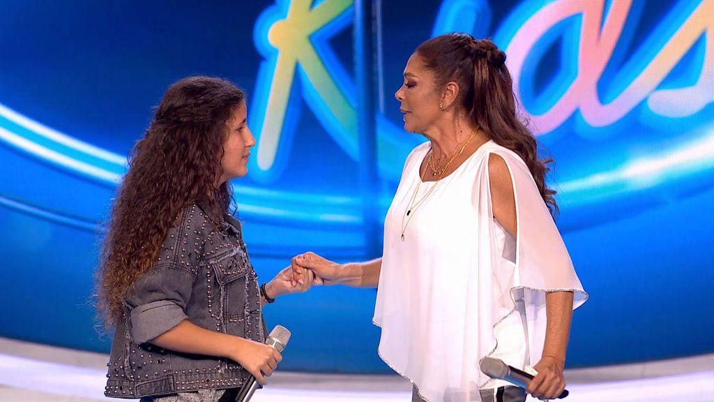 La versión de 'Over the rainbow' con Isabel Pantoja Idol Kids Temporada 1 Programa 5