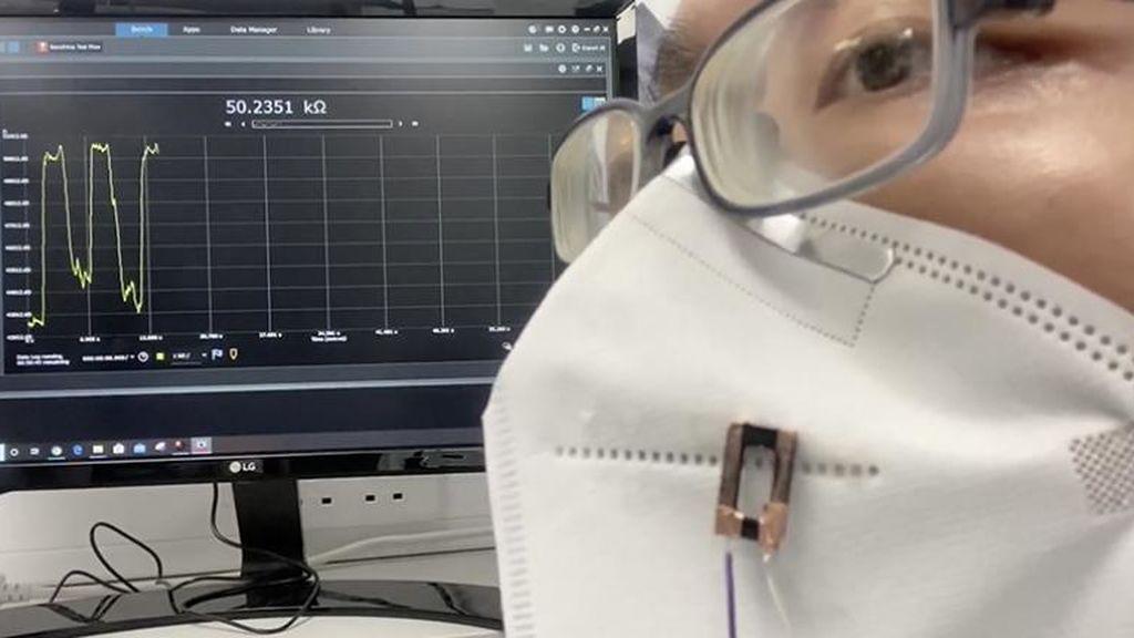 Fibras invisibles impresas en 3D pueden sentir la respiración, el sonido y las células biológicas