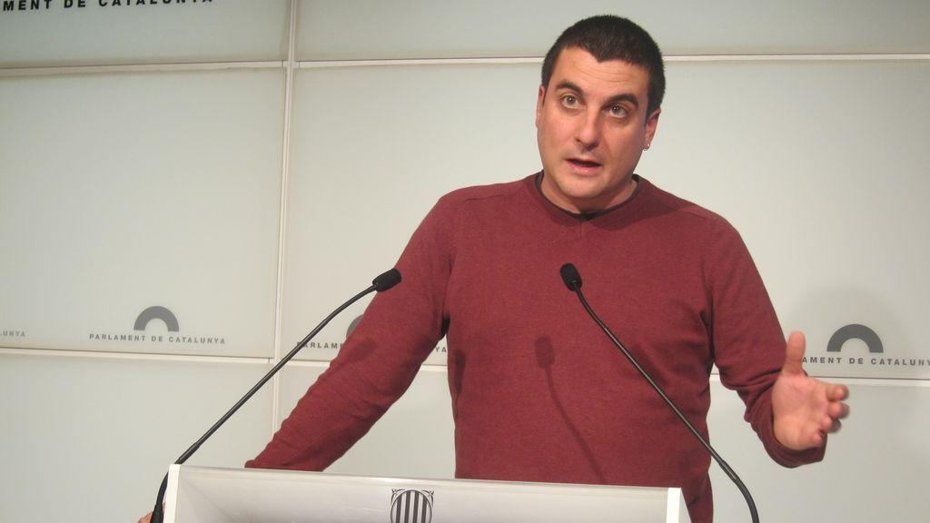 Arrufat, exdirigente de la CUP, abandonó el partido acusado de agresión sexual y abuso
