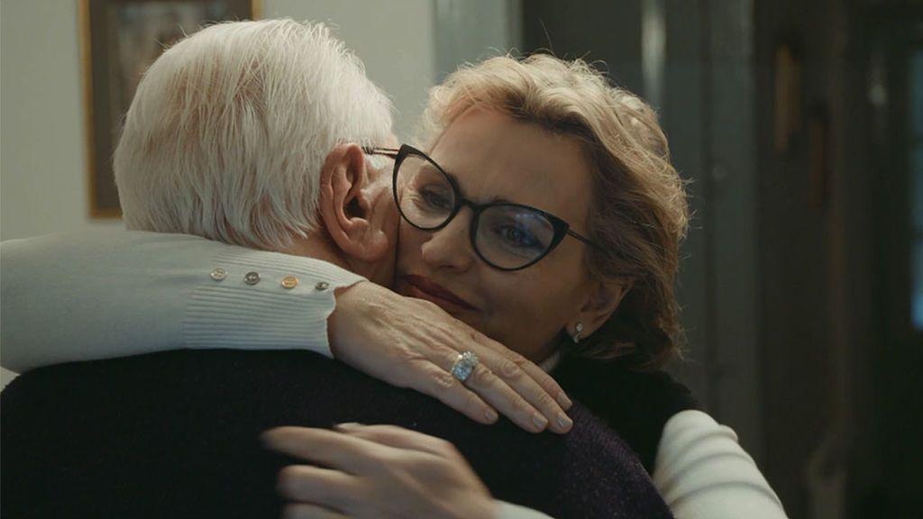 Ainhoa Arteta y su padre José Ramón Arteta