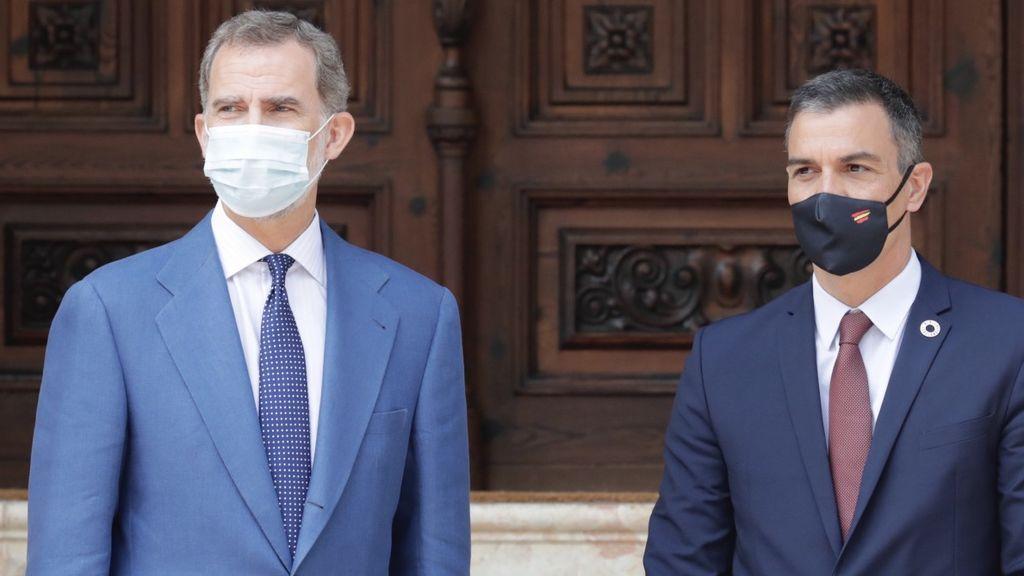 Felipe VI y Pedro Sánchez viajaran el viernes a Barcelona para participar en el Barcelona New Economic Week