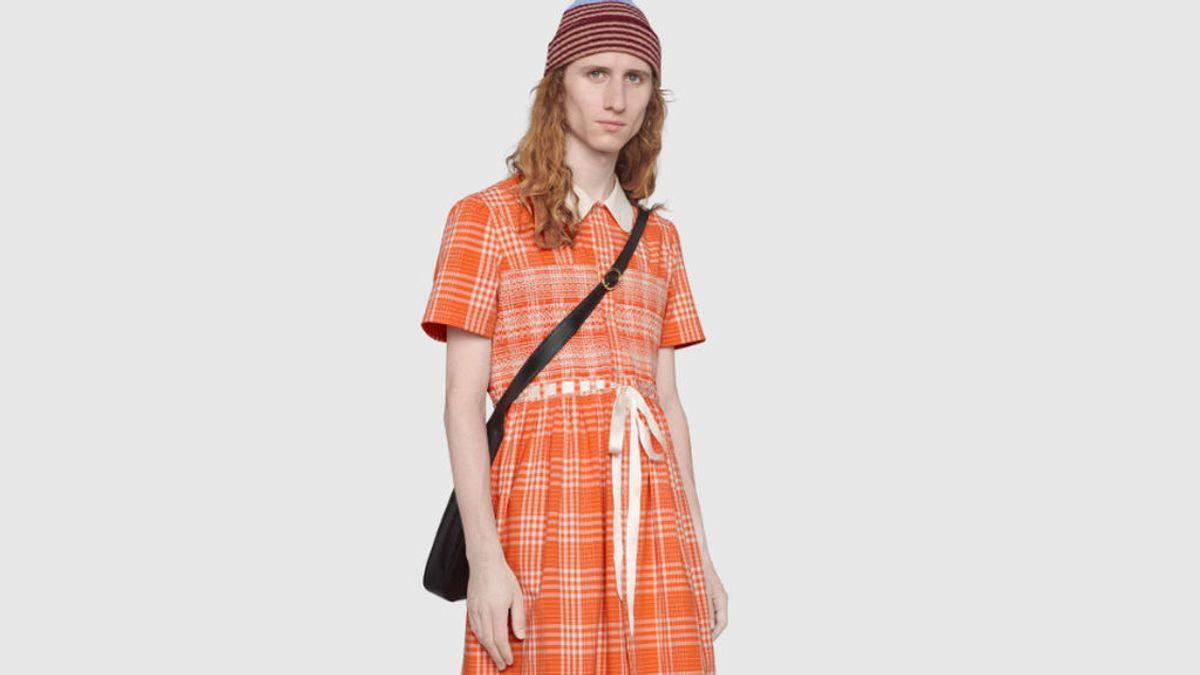 El vestido 'delantal' para hombres que lanza Gucci a un precio prohibitivo