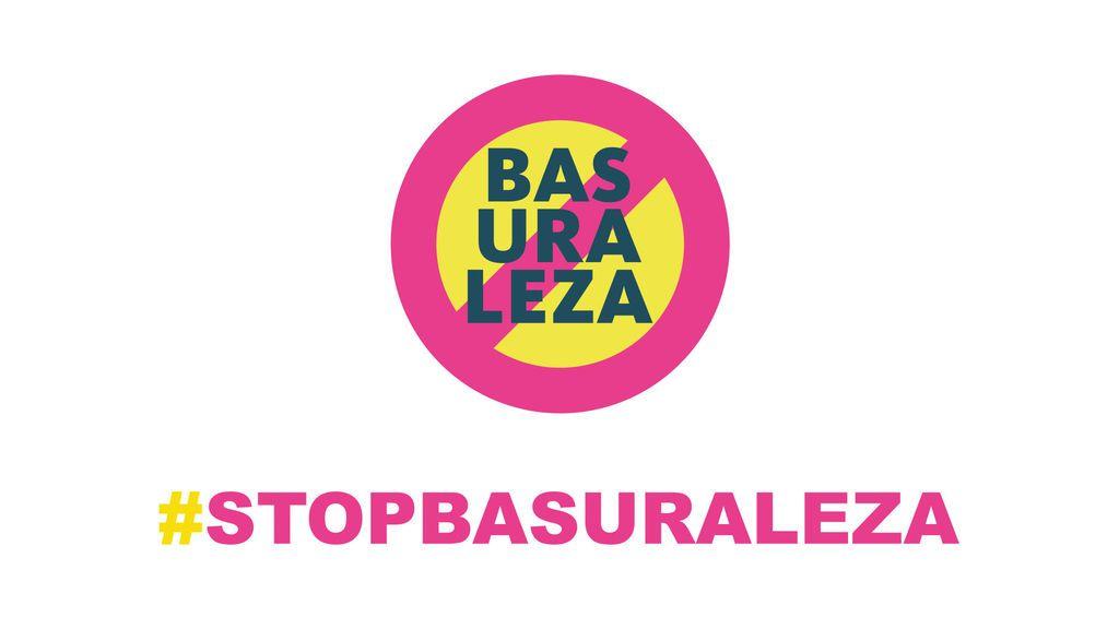 cartela stop basuraleza