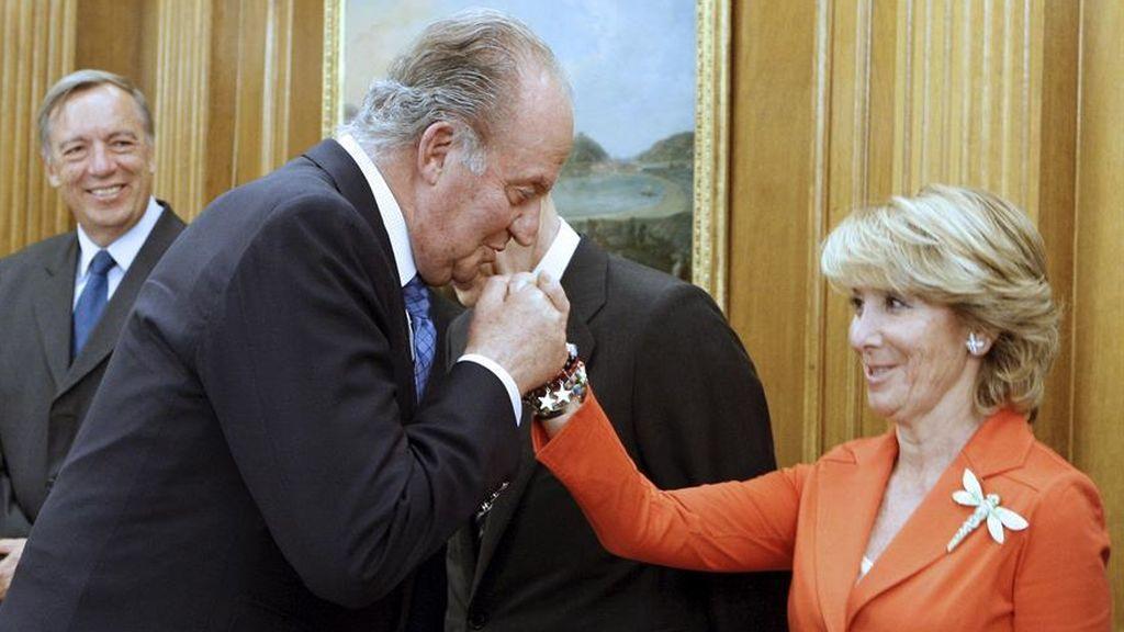 """Esperanza Aguirre y la """"dudosísima reputación"""" de Corinna: """"Si no estuviese en Televisión le diría la reputación que tiene esta señora"""""""