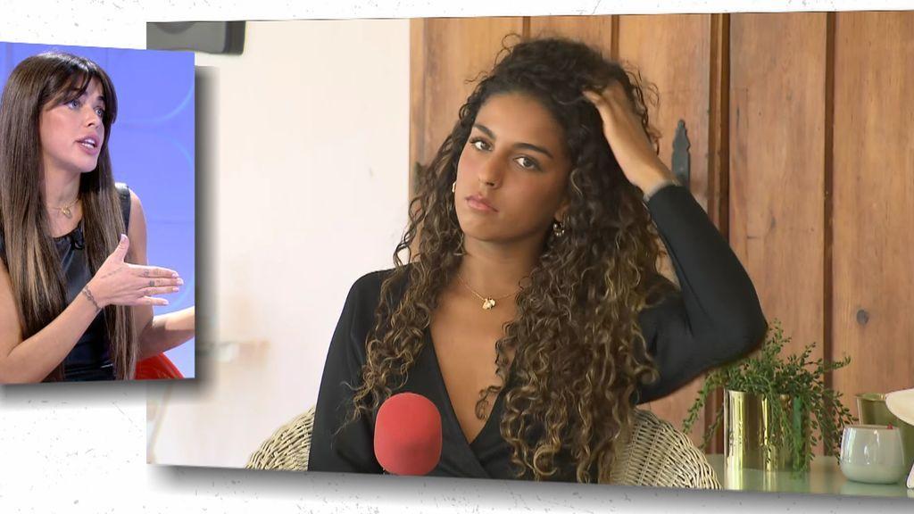 """Violeta asegura que Zoe estaba viéndose con una amigo de Omar Montes: """"Le ha dicho que le espere fuera"""""""