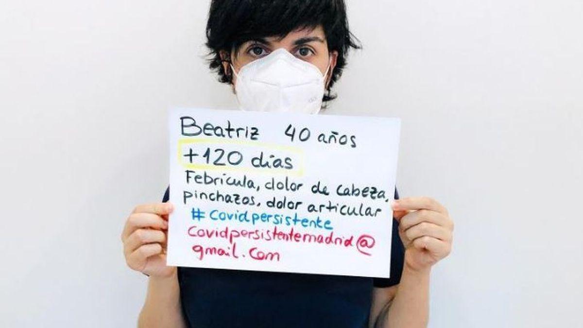 """Beatriz, paciente con covid persistente: """"He estado siete meses con febrícula"""""""