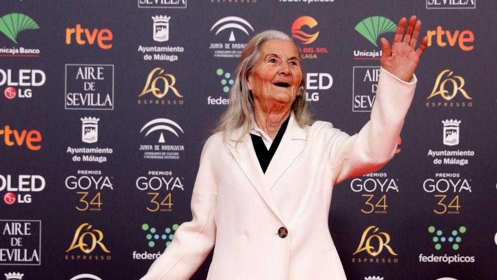 """Benedicta Sánchez, tras la preselección para los Oscar de O que arde: """"Iría a Hollywood de cabeza"""""""