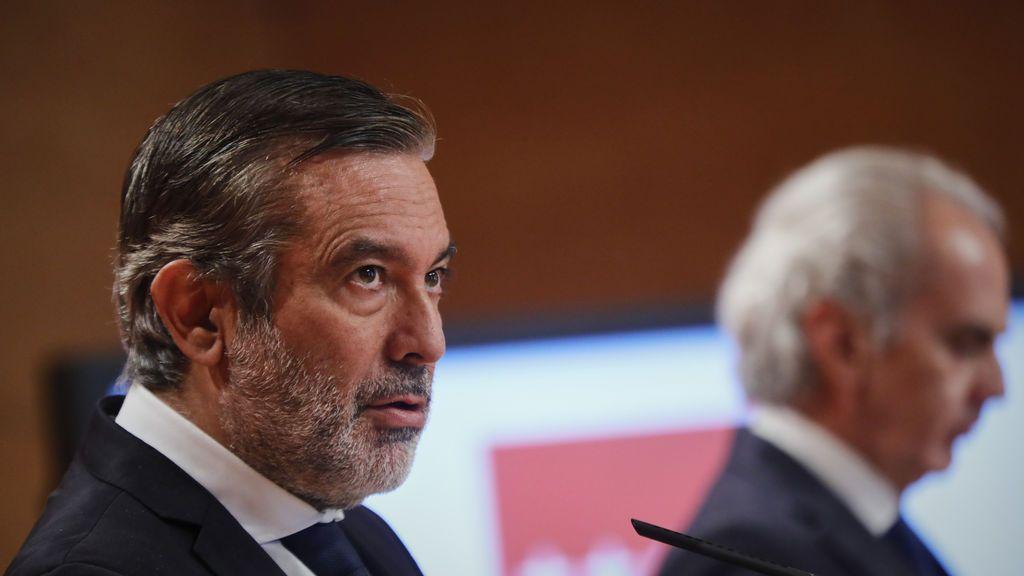 El consejero de Justicia de la Comunidad de Madrid, Enrique López